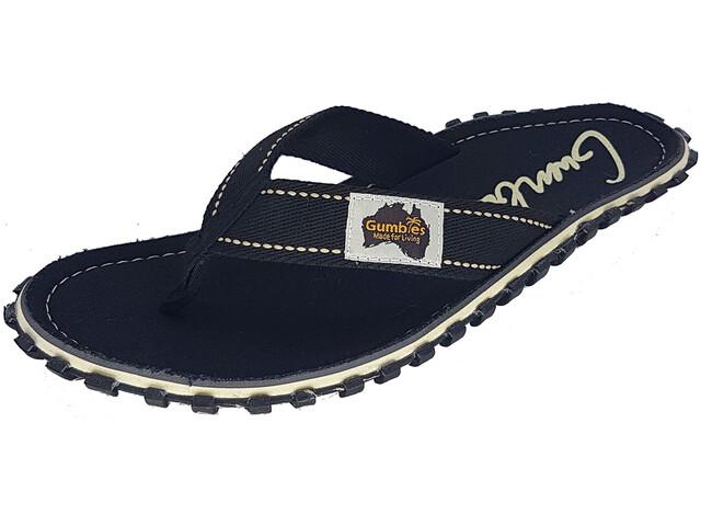 GUMBIES Islander Sandalias, black